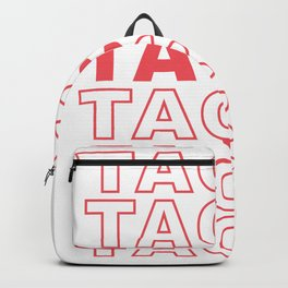 Taco Taco Backpack