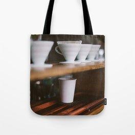 Coffee at Broadway Market Tote Bag