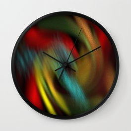 rolling colours Wall Clock