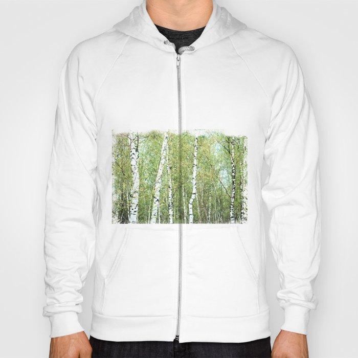 the birch forest III Hoody