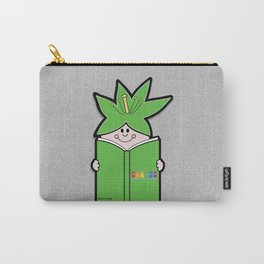 Reading Rainbow in Harmony - Green Carry-All Pouch