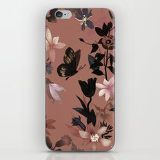Autumn flowers in the garden iPhone & iPod Skin