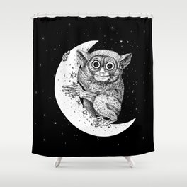 The Nocturnal Shower Curtain