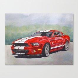 Red Cobra Canvas Print