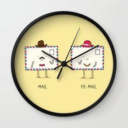 Gender Wall Clock