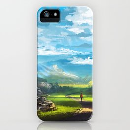 Road to the Promised Dream iPhone Case