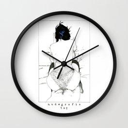 Nudegrafia - 001 Wall Clock