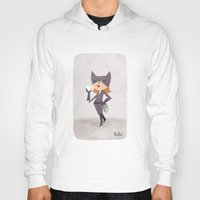 catwoman Hoodies featuring Catwoman by Popol