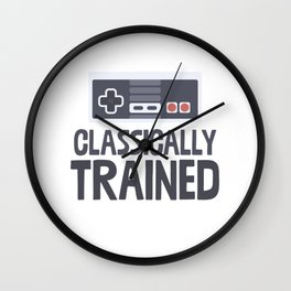 Classically Trained Wall Clock