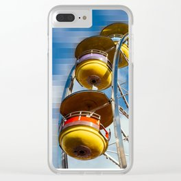 Ferris Wheel and Blue Skies Clear iPhone Case