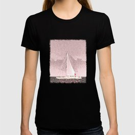 """Sailboat #8"" Art of the Sea by Murray Bolesta T-shirt"