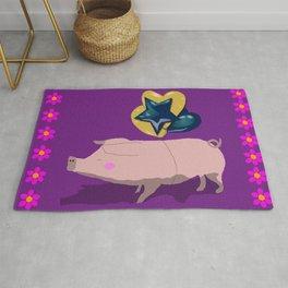 Party piggy Rug