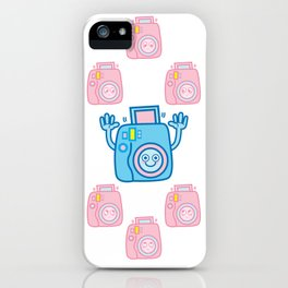 We are watching you. Say Cheese!!! iPhone Case
