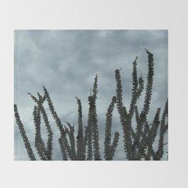 Ocotillo Sky No. 1 Throw Blanket