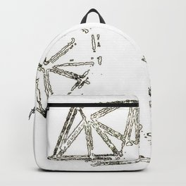 Melted geometry Backpack