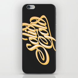 Solid Gold iPhone Skin