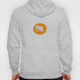 Orange Elephant Hoody