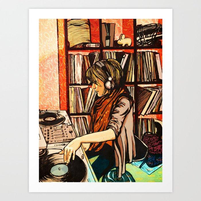 *vinyl* Art Print