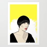 karen hallion Art Prints featuring Karen Ooo by Nicky Phillips