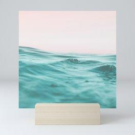 water surfing Mini Art Print