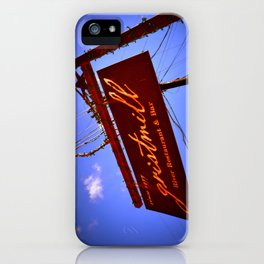Gristmill Sign iPhone Case