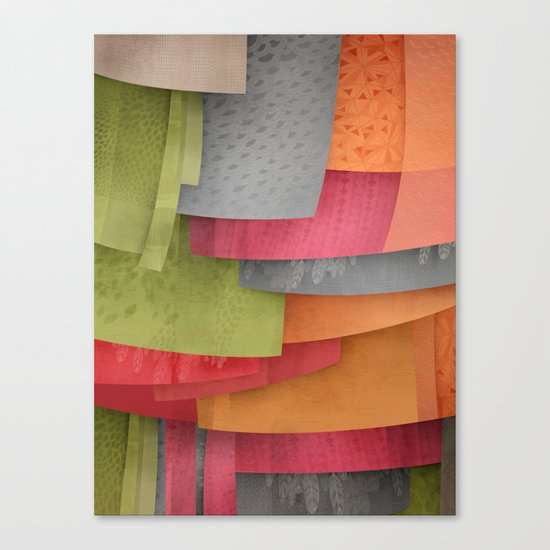 Explore colour Canvas Print