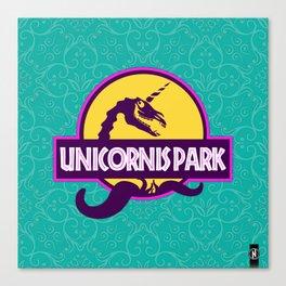 Unicornis Park Canvas Print