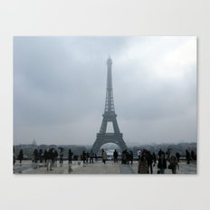 Eiffel Tower. Canvas Print