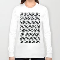 wallpaper Long Sleeve T-shirts featuring Wallpaper #2 by Hovercraftdoggy