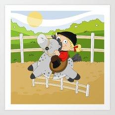 Olympic Sports: Equestrian Art Print