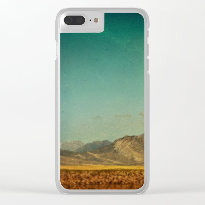 Somewhere Faraway Clear iPhone Case