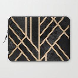Art Deco Black Laptop Sleeve
