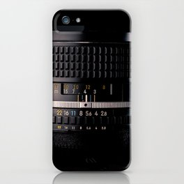 Professional Photography Lens iPhone Case