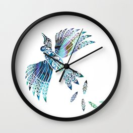 Tui Paua Wall Clock