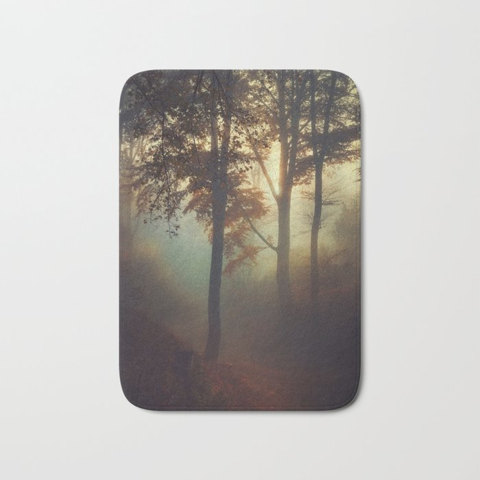 Fog Pit -  Misty Sunrise Bath Mat