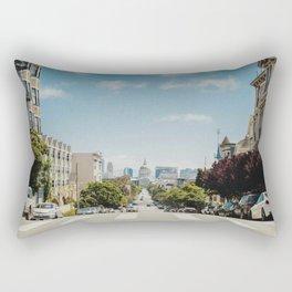 Downtown San Francisco (Color) Rectangular Pillow