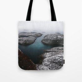 Skrova Lighthouse Tote Bag