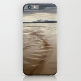 Beach and Mountains iPhone Case