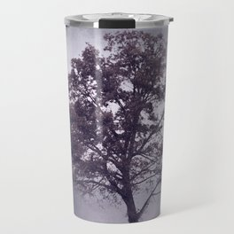 Rum Purple Cotton Field Tree - Landscape Travel Mug