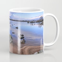 Rocking it on Rannoch Moor; Scottish highlands Coffee Mug