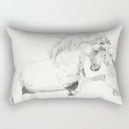 A Bigger World #2 Rectangular Pillow