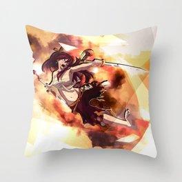 Erza Scarlet - Fairy Tail Throw Pillow