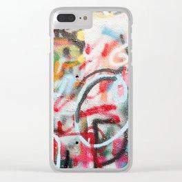 Graffiti Clear iPhone Case