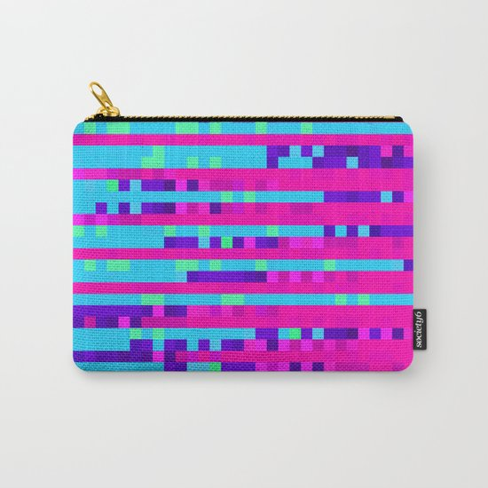 Pixel Pattern 2 Carry-All Pouch