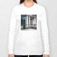 edinburgh Long Sleeve T-shirts featuring Family Dental Practice Edinburgh by RMK Photography