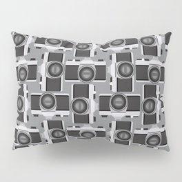 35mm Camera Pattern Pillow Sham