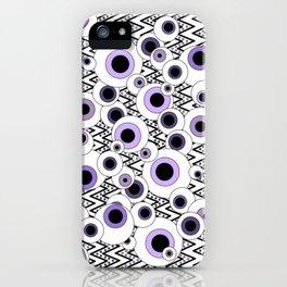 Peekaboo - Purple iPhone Case