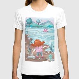 Giadina at the creeck T-shirt