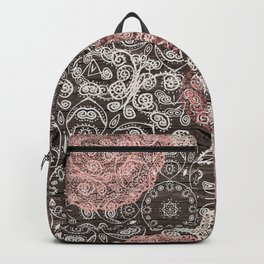 HAPPY GO LUCKY - BOHO WOOD Backpack