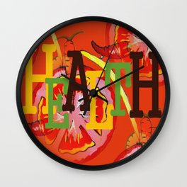 Health Wall Clock